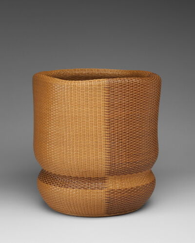 Monden Kogyoku, 'Square Flower Basket', 1985