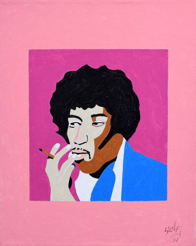 Barry Senft, 'Jimi Hendrix', 2014