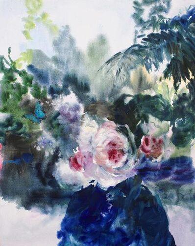 Darlene Cole, 'Entwine (she wore blue velvet)', 2019