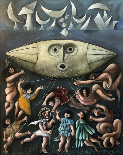 Julio De Diego, 'Lords of the Sky', ca. 1950