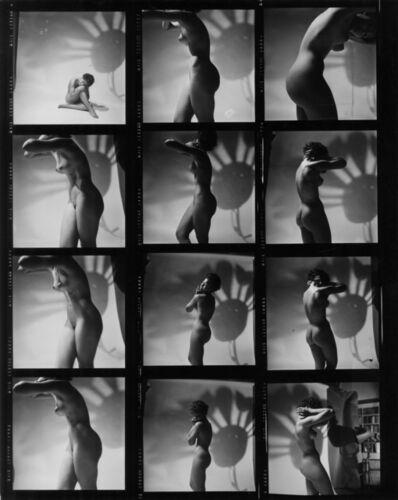 Peter Basch, 'untitled contact sheet (171 B)', ca. 1960