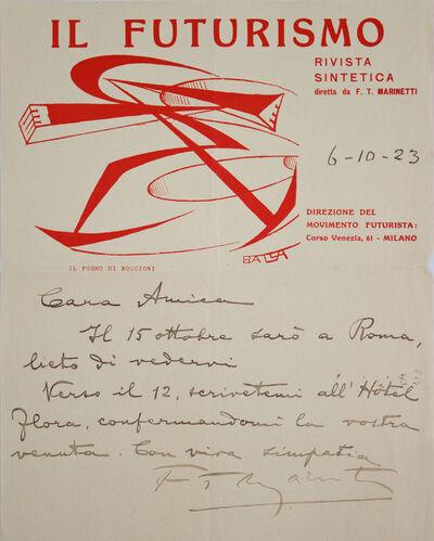 Giacomo Balla, 'Il Futurismo (3)', 1915-1923