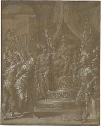 Jacopo Ligozzi, 'Christ before Herod', ca. 1590