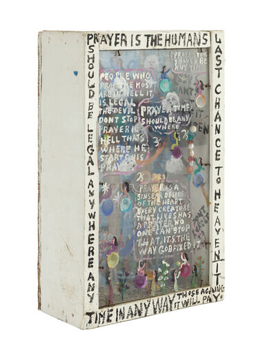 Howard Finster, 'Diorama'