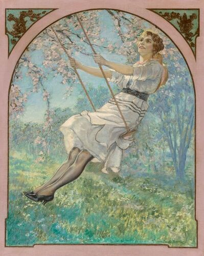 Walter Beach Humphrey, 'Lady on Swing', 20th Century
