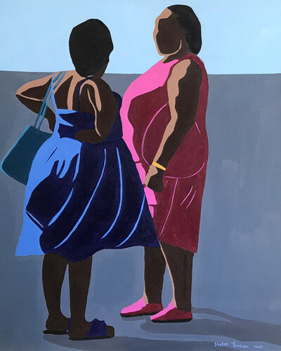 Shakes Tembani, '2 Ladies going out', 2019