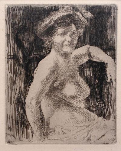 Albert Besnard, 'Femme nue', 1909