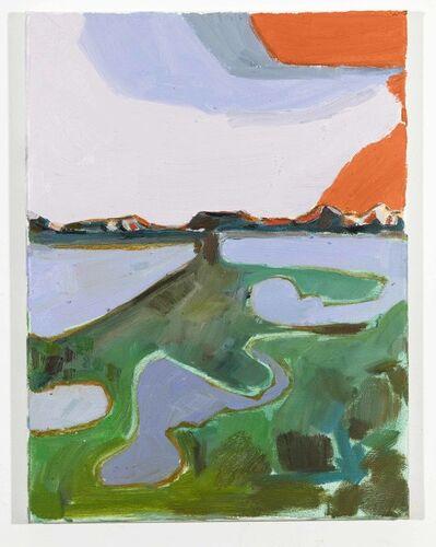 Lisa Sanditz, 'Landscape Colour Study Orange', 2019