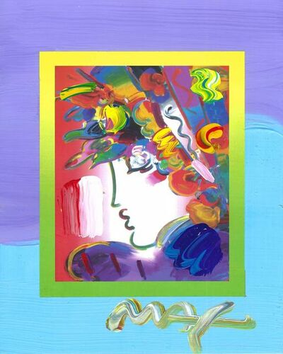 Peter Max, 'Blushing Beauty on Blends (Ref. # 2240)', 2007
