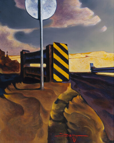 Z.Z. Wei, 'Railroad Crossing', 2019