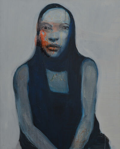 Do Hoang Tuong, 'Blue Wet Lady', 2016