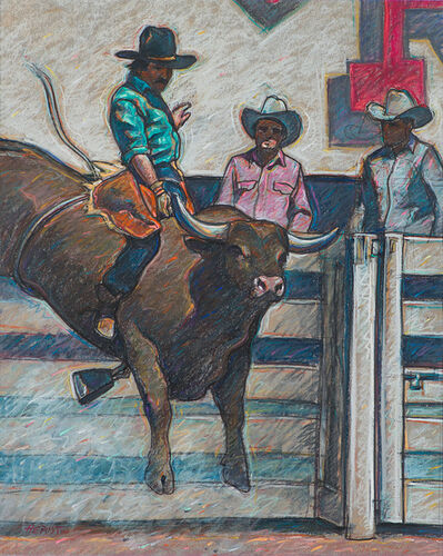 Howard Post, 'Untitled (Cowboy on Bull)', 20th/21st Century