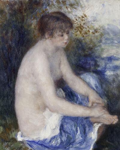 Pierre-Auguste Renoir, 'Petit nu bleu (Little Blue Nude)', c. 1878–79