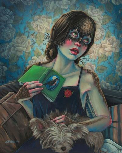 Lori Nelson, 'Reading Wilde (I Was a Teenage Nightingale)', 2017