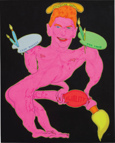 Peter Saul, 'Umerican Art (Ronald Reagan)', 1970