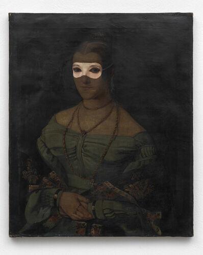 Fabrice Samyn, 'Pupil's mask', 2013