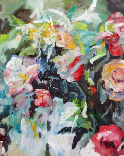 Kim Ford Kitz, 'Roses and Peonies', 2016