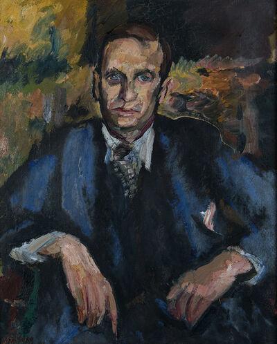 David Bomberg, 'Portrait of John Rodker', ca. 1931