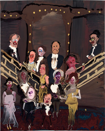 Genieve Figgis, 'Group Portrait on the Stairs', 2018