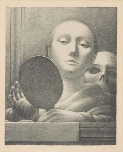 George Tooker, 'The Mirror (G. 4)', 1978