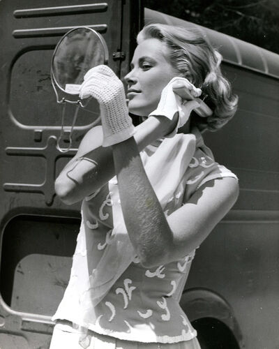 "Edward Quinn, 'Grace Kelly on the set of ""To catch a thief"", Cannes, 1954', 1954"