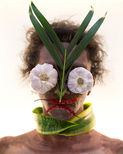 Martine Gutierrez, 'Masking, Garlic Mask, p54 from Indigenous Woman', 2018