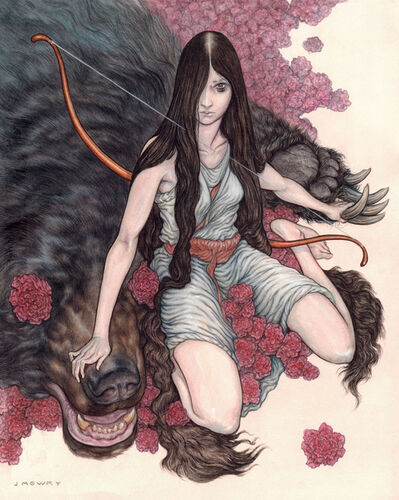 Jason Mowry, 'Artemis and the Bear', 2020