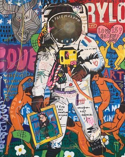 Jisbar, 'Art In Space', 2019