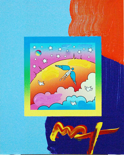 Peter Max, 'Angel Clouds on Blends (Ref. # 439)', 2007
