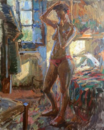 Ben Fenske, 'Blue Light Nude, Bea', 2016