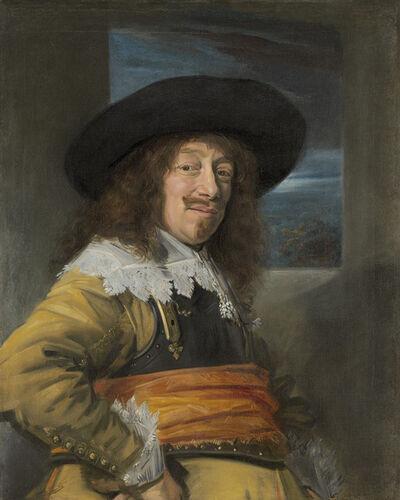 Frans Hals, 'Portrait of a Member of the Haarlem Civic Guard', ca. 1636/1638