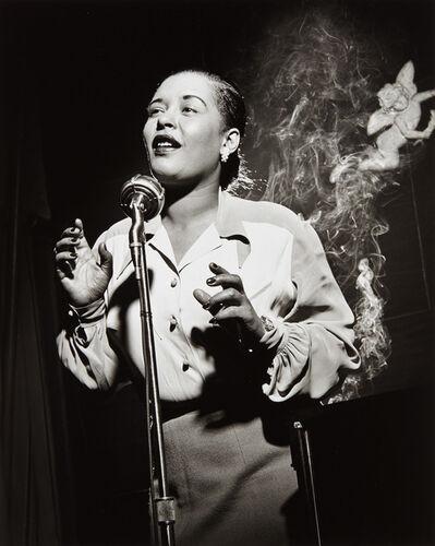 Herman Leonard, 'Billie Holiday, NYC', 1949