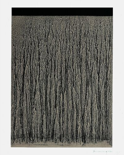 Richard Long, 'River Avon Mud Drawing (C)', 1998