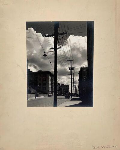 Brett Weston, 'Larkin St.', 1937