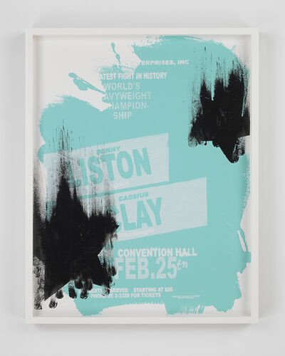 Gary Simmons, 'Liston Clay Star Fall', 2014