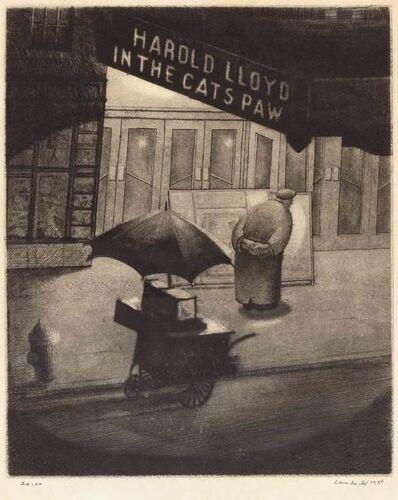 Armin Landeck, 'CAT'S PAW (KRAEFT 44)', 1934