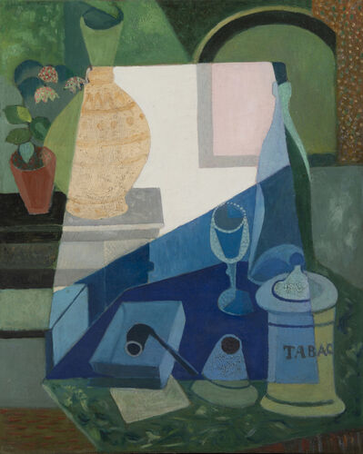 Mauel Ortiz de Zarate, 'Nature morte à la pipe', 1886-1946