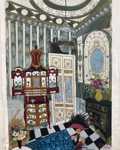 Francisca Ahlers, 'The Emerald Room', 2021