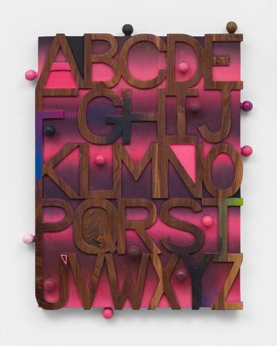 Josh Dihle, 'Sunset Alphabet', 2021
