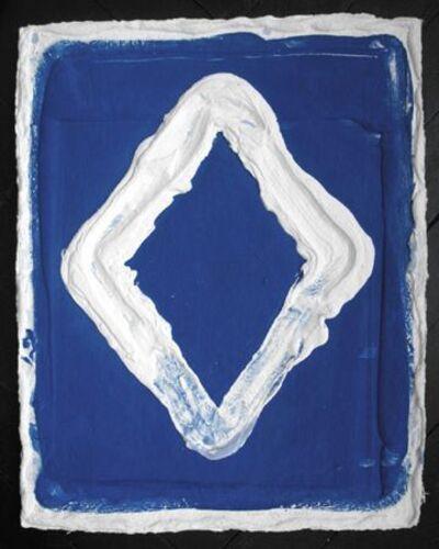 Bram Bogart, 'Losange Blue', 2006