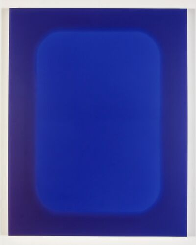 Lisa Bartleson, 'Volume No. 5 violet/ Ultramarine Violet', 2015