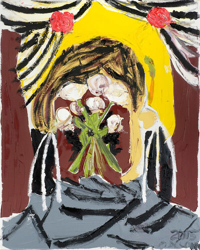 Mark DeLong, 'Flowers for Mikey's Head', 2015
