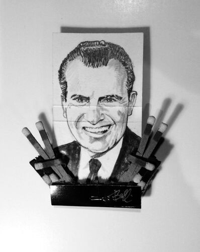 matchbox artists, 'Richard Nixon', 2015