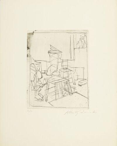 Alberto Giacometti, 'Les deux tabourets', 1955