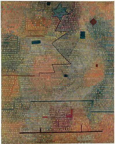 Paul Klee, 'aufgehender Stern (Rising Star)', 1931