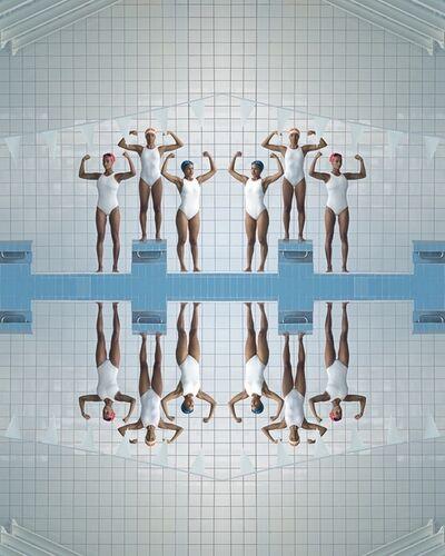 Maria Svarbova, 'Girl Power, Pool', 2020