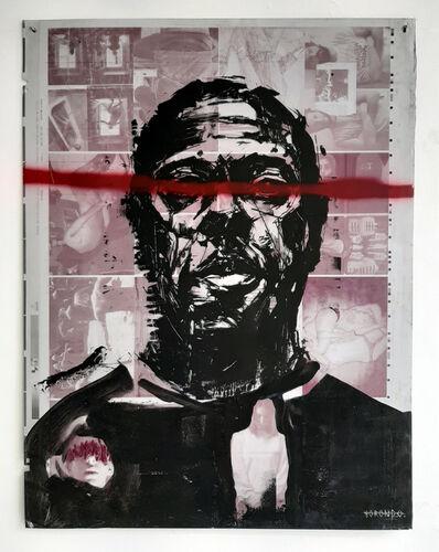 Gonzalo Borondo, 'MEMENTO MORI - PORTRAIT', 2015
