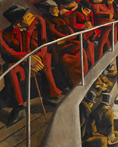 David Bomberg, 'Ghetto Theatre', 1920