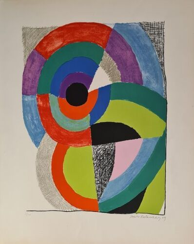 Sonia Delaunay, 'Composition orphique ', 1969
