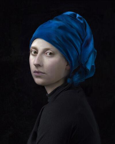 Hendrik Kerstens, 'Blue Turban', 2017